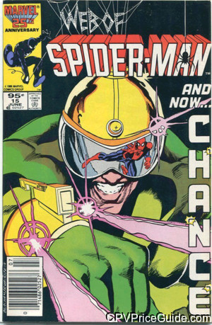 web of spider man 15 cpv canadian price variant image