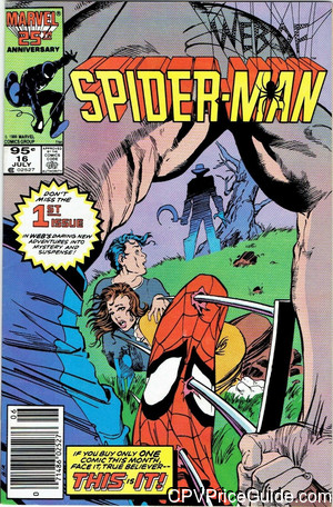 web of spider man 16 cpv canadian price variant image