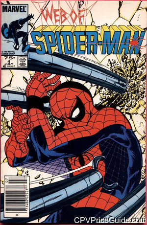web of spider man 4 cpv canadian price variant image