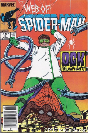 web of spider man 5 cpv canadian price variant image