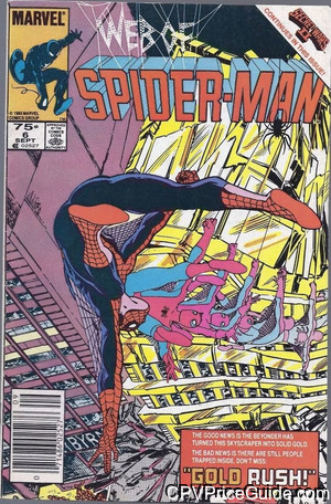 web of spider man 6 cpv canadian price variant image