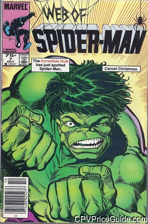 web of spider man 7 cpv canadian price variant image