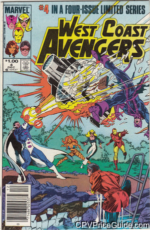 west coast avengers limited series 4 cpv canadian price variant image