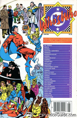 whos who the definitive directory of the dc universe 16 cpv canadian price variant image