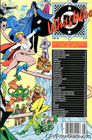 whos who the definitive directory of the dc universe 18 cpv canadian price variant image