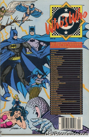 whos who the definitive directory of the dc universe 2 cpv canadian price variant image