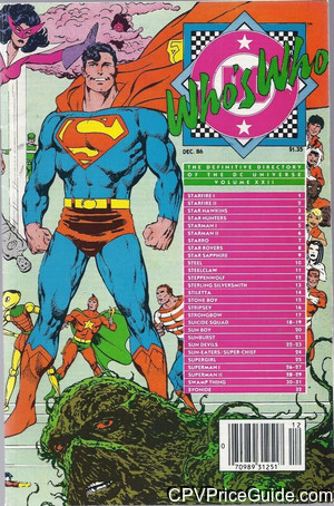 whos who the definitive directory of the dc universe 22 cpv canadian price variant image