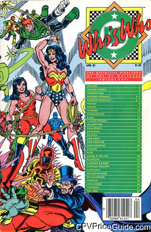 whos who the definitive directory of the dc universe 26 cpv canadian price variant image