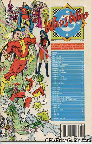 whos who the definitive directory of the dc universe 4 cpv canadian price variant image