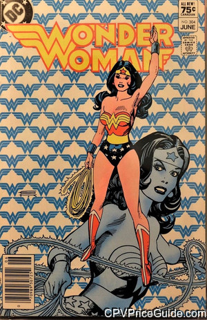 Wonder Woman #304 75¢ Canadian Price Variant Comic Book Picture