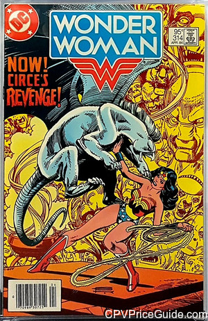 Wonder Woman #314 95¢ Canadian Price Variant Comic Book Picture