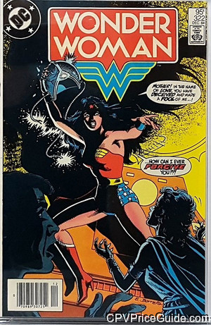 Wonder Woman #322 95¢ Canadian Price Variant Comic Book Picture