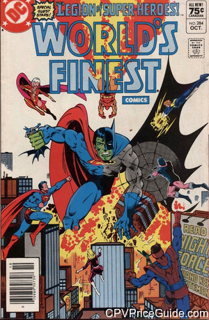 worlds finest comics 284 cpv canadian price variant image