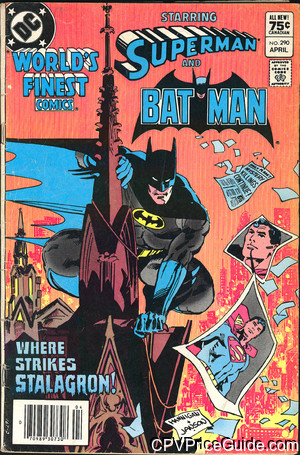 worlds finest comics 290 cpv canadian price variant image