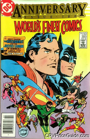 worlds finest comics 300 cpv canadian price variant image