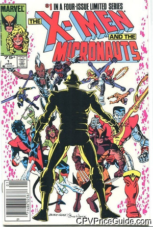 x men and the micronauts 1 cpv canadian price variant image
